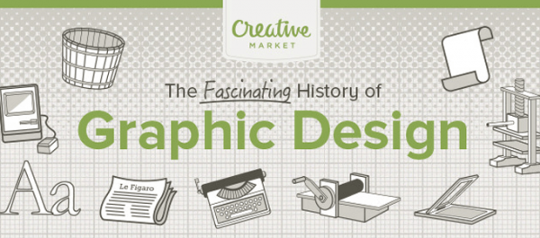 Infographic The History of Graphic Design