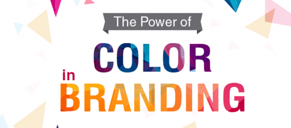 Infographic The power of colour in branding