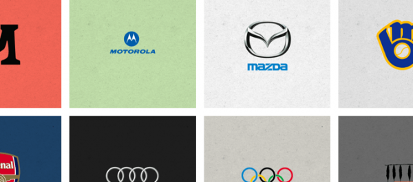 Infographic famous logos hidden meanings