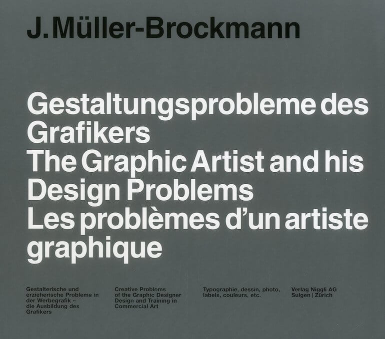 50 best graphic design gooks every designers should read 18 the graphic artist and his design problems by josef mller brockmann solutioingenieria Gallery