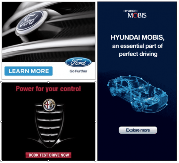 8 Automotive Banner Design Inspiration
