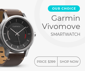 Smartwatch banner template