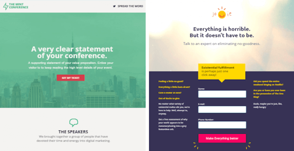 conversion-vs-Lead-Generation-landing page