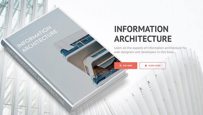 information architecture - landing pages for PPC campaigns