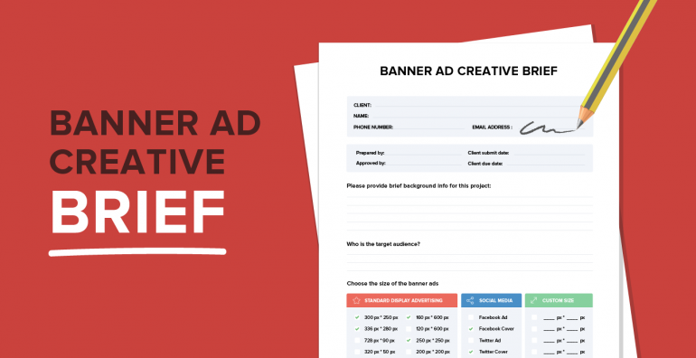 Banner Ad Brief by Bannersnack