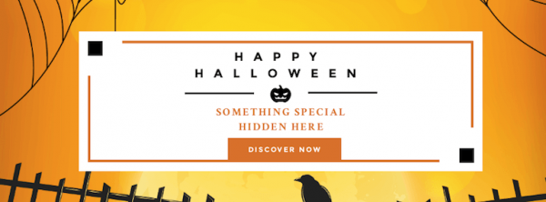 Happy Halloween Banner Ad Template