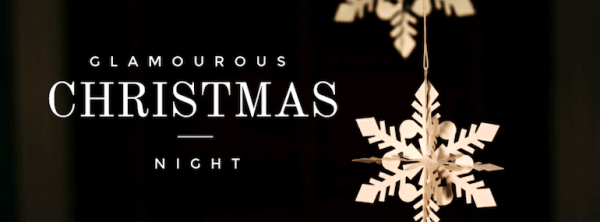 Glamorous Christmas Template with Montserrat text