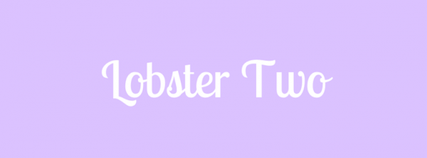 Lobster Two Christmas Font