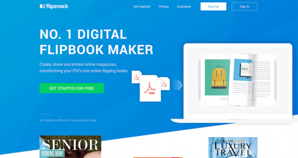 digital flipbook maker