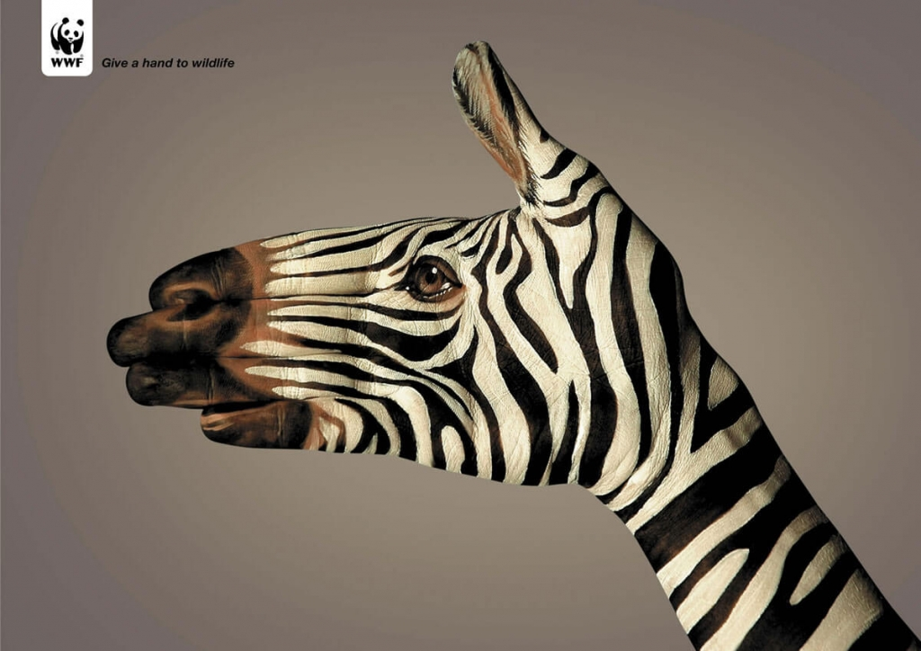 Zebra ads ideas - WWF