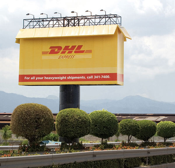 Creative billboard ads DHL