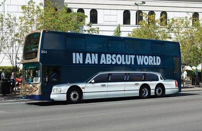 In An Absolut World Product Advertisement Example