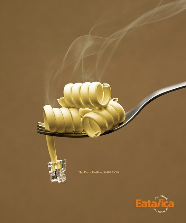 Visual Ads examples - Eatalica
