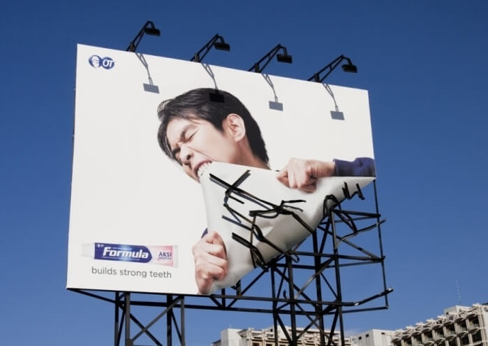 Creative billboard example