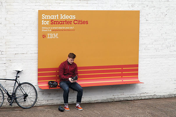 Best IBM Ambient advertisement ideas