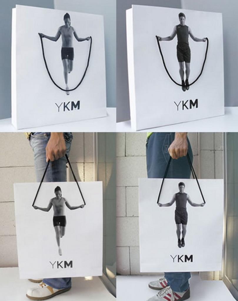 Creative Packaging Advertisement Example