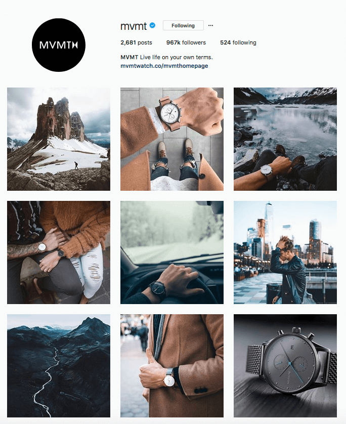 instagram feed idea