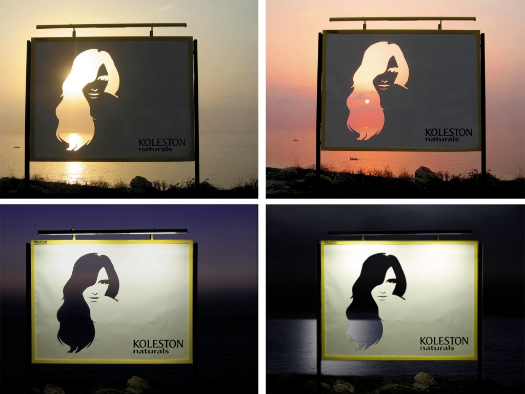 Koleston Creative Billboard Ads