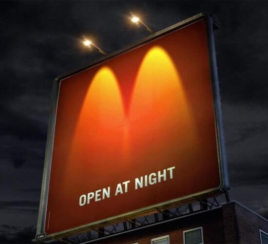 McDonald's Creative Advertisment