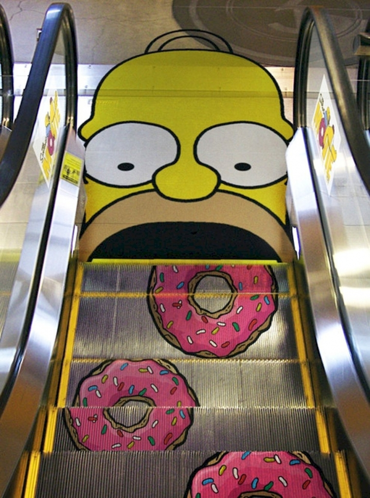 stairs advertising creative examples
