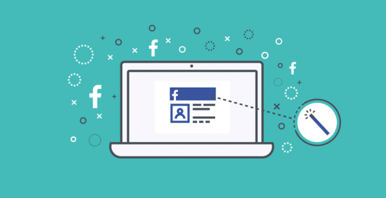 create Facebook cover banner