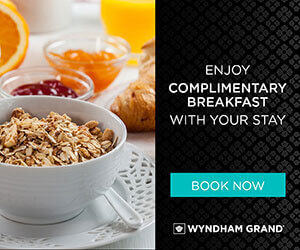 Wyndham Grand banner design