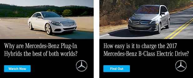 Mercedes-Benz advertisement example