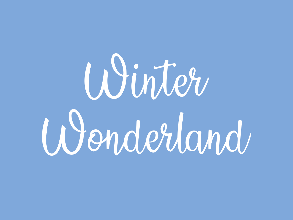 christmas fonts - country side font