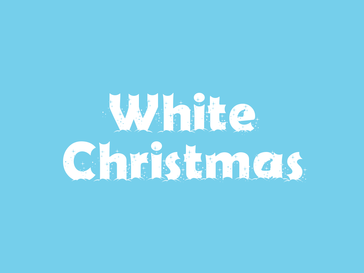 christmas fonts - first christmas font