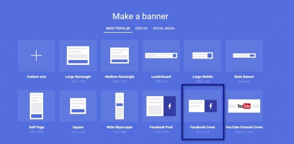 Make a banner with Bannersnack