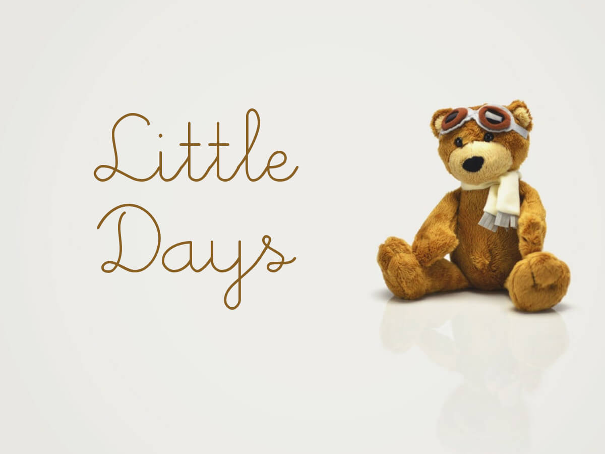 Little Days - kids hand written font
