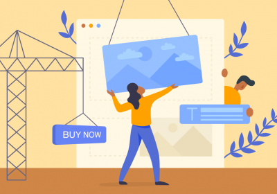how to create a landing page for etsy