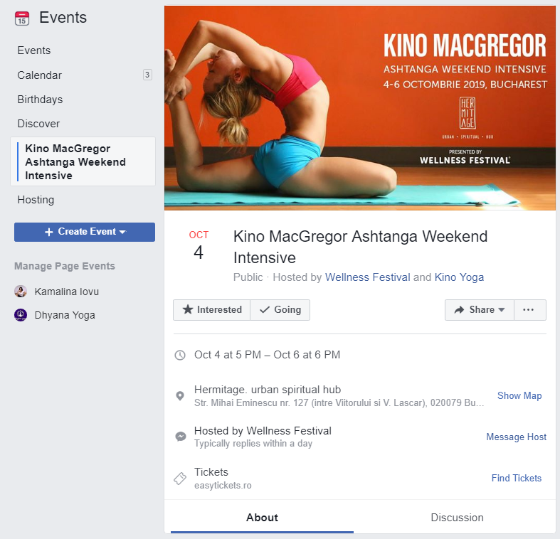 Facebook event cover