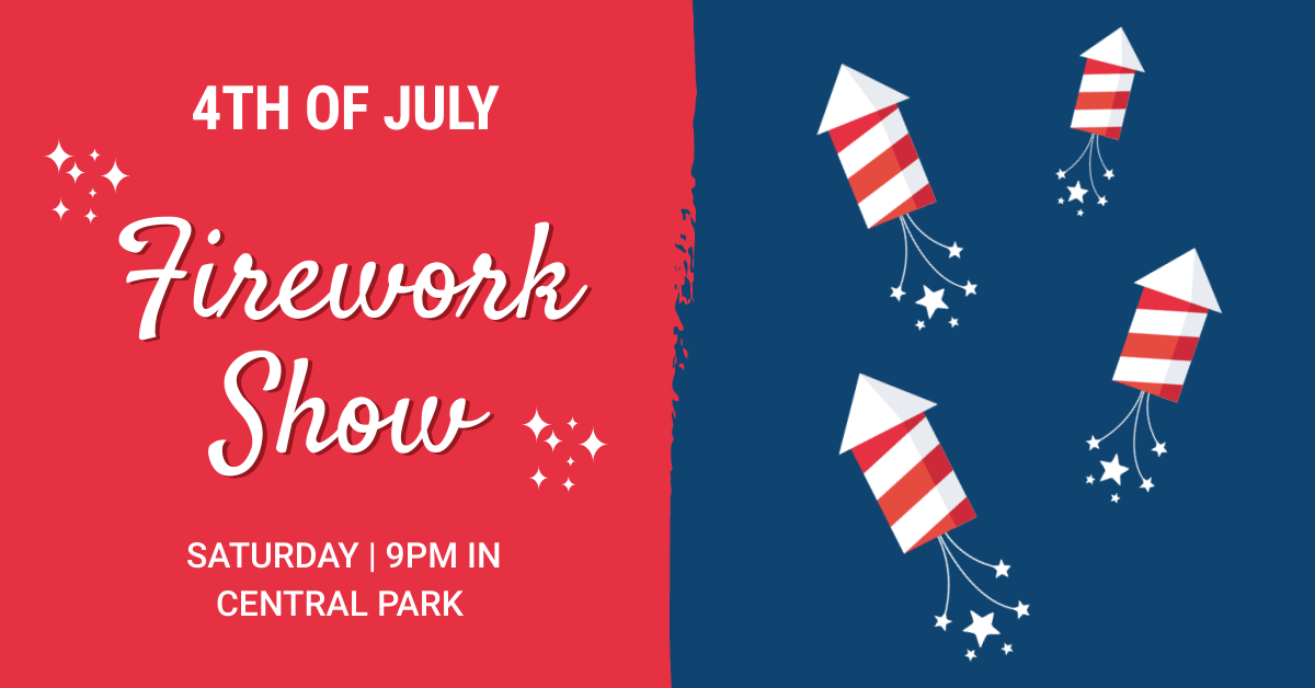 july 4th facebook cover event image