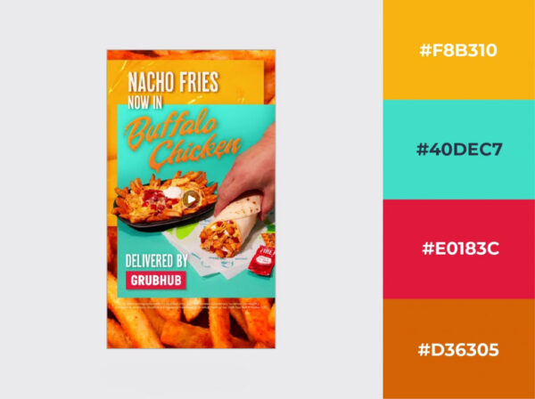 Tacobell Instagram Advertisement Example