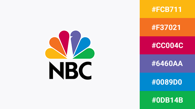 colorful logo nbc