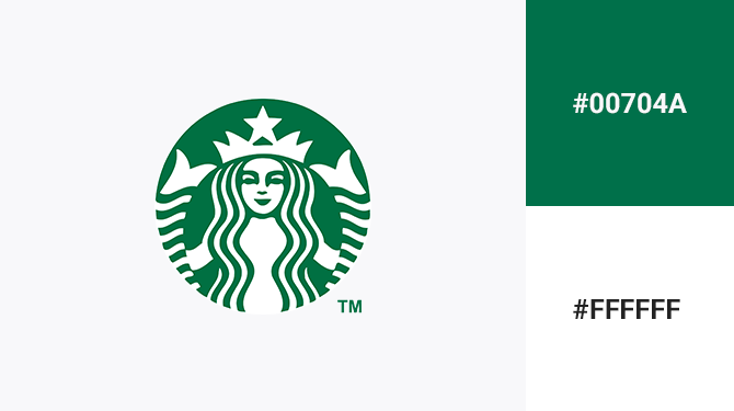 green and white logo starbucks