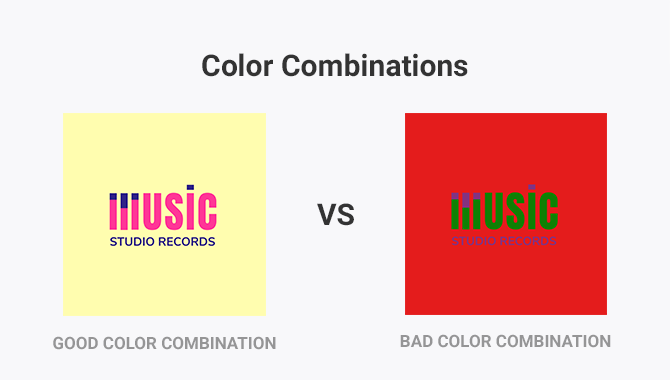 logo color combinations example