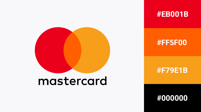 orange and red logo mastercard